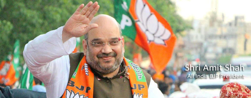Shri Amit Shah, <br><h41>All India BJP President</h41>