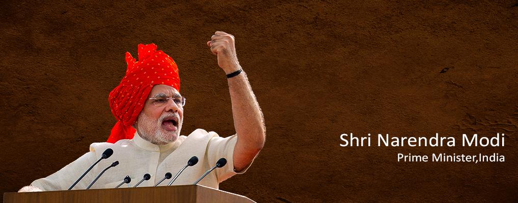 Shri Narendra Modi <br><h41> Prime Minister, India</41>