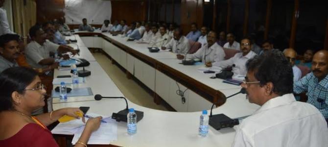Dr. Kambhampati Hari Babu Participated in the meeting to build frame work under the PRADHAN MANTRI MUDRA YOJANA