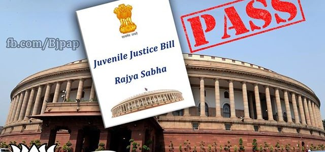 Juvenile Justice Bill passed in Rajya Sabha, age lowered to 16.
